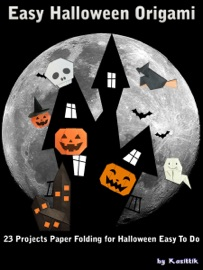 EASY HALLOWEEN ORIGAMI: PAPER FOLDING THE GHOST FOR HALLOWEEN FESTIVAL EASY TO DO