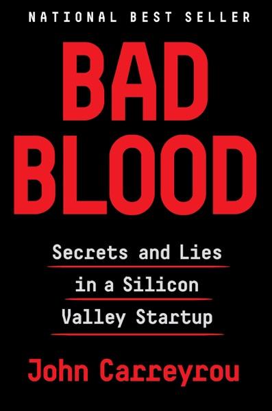 Bad Blood - John Carreyrou book cover