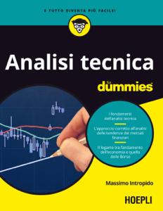 Analisi Tecnica for dummies Copertina del libro