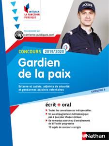 Concours Gardien de la paix - Catégorie B - Intégrer la fonction publique - 2019/2020 La couverture du livre martien