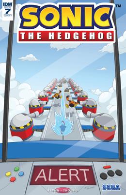 Sonic the Hedgehog #7 - Ian Flynn & Adam Bryce Thomas book