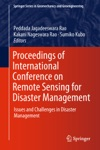 Proceedings Of International Conference On Remote Sensing For Disaster Management