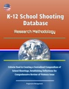K-12 School Shooting Database Research Methodology - Criteria Used In Creating A Centralized Compendium Of School Shootings Establishing Definitions For Comprehensive Review Of Violence Issue