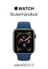 Brukerhåndbok for Apple Watch - Apple Inc.