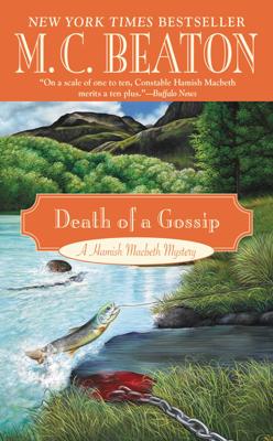 M.C. Beaton - Death of a Gossip book