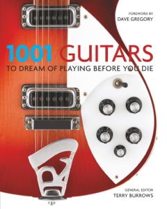 1001 Guitars to Dream of Playing Before You Die La couverture du livre martien