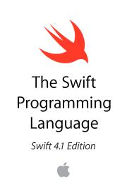 The Swift Programming Language (Swift 4.1) book