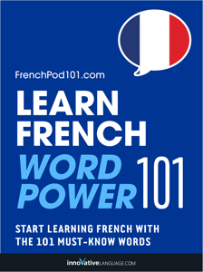 Learn French - Word Power 101 Cover Book