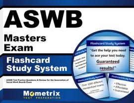 ASWB Masters Exam Flashcard Study System: book