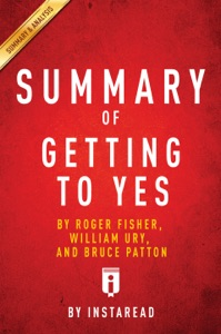 Summary of Getting to Yes Book Cover
