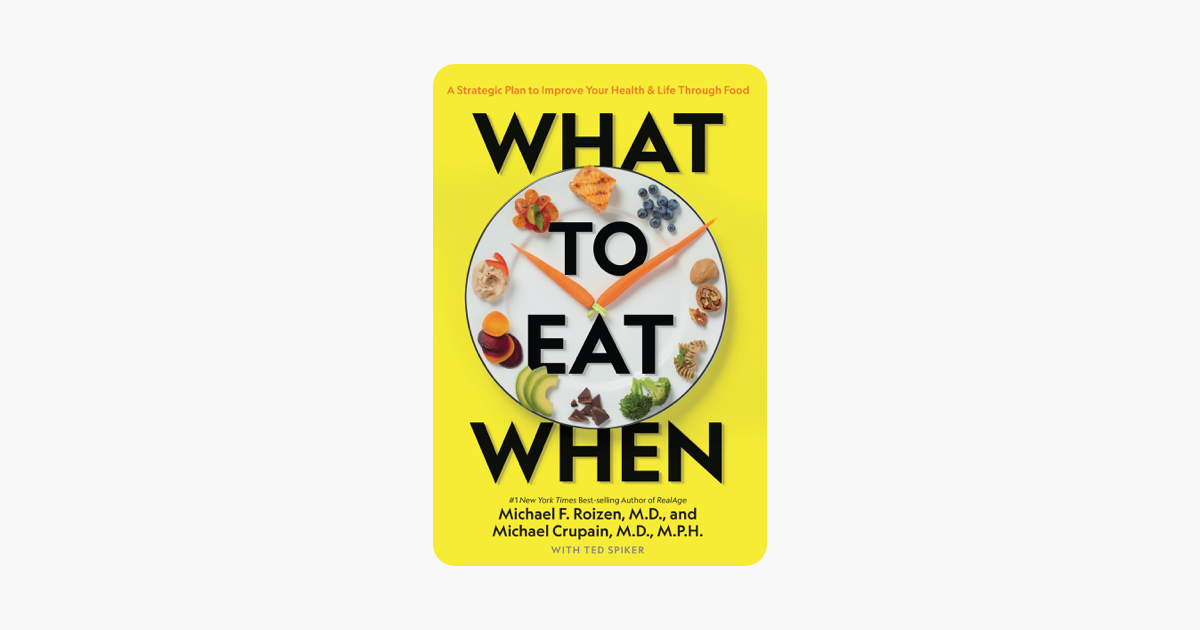 What to Eat When - Michael Roizen, Michael Crupain & Ted Spiker