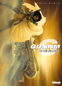 Gunnm - Édition originale - Tome 06 La couverture du livre martien