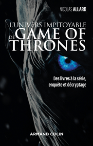 L'univers impitoyable de Game of Thrones La couverture du livre martien