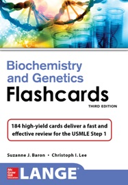 Lange Biochemistry And Genetics Flashhcards Third Edition