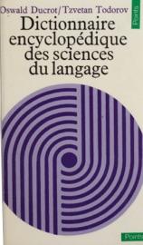 DICTIONNAIRE ENCYCLOPéDIQUE DES SCIENCES DU LANGAGE