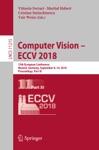 Computer Vision  ECCV 2018