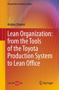 Lean Organization: from the Tools of the Toyota Production System to Lean Office Copertina del libro