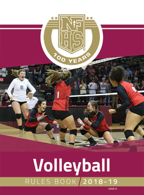 2018-19 Volleyball Rules Book - NFHS book