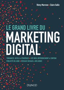 Le Grand Livre du Marketing digital La couverture du livre martien