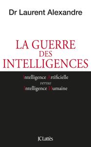 La guerre des intelligences La couverture du livre martien
