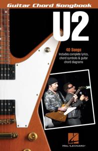 U2 - Guitar Chord Songbook Libro Cover
