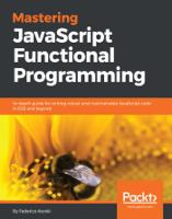 Federico Kereki - Mastering JavaScript Functional Programming artwork