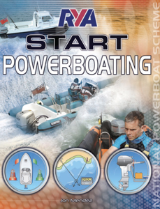 RYA Start Powerboating (E-G48) La couverture du livre martien