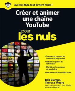 Créer et animer une chaîne YouTube Pour les Nuls La couverture du livre martien