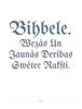 Ernsts Gliks - Bihbele.    Wezâs un Jaunâs Derîbas Ꞩwêtee Rakſti. artwork