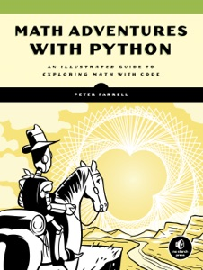Math Adventures with Python Book Cover