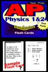 AP Physics Test Prep 12 Review--Exambusters Flash Cards
