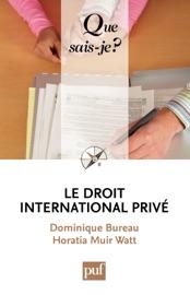 Le Droit International Priv