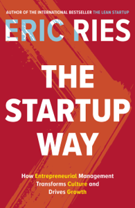 The Startup Way Cover Book