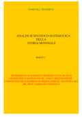 Analisi scientifico-matematica della storia mondiale. Parte I Book Cover