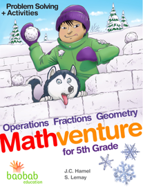 Mathventure for 5th Grade