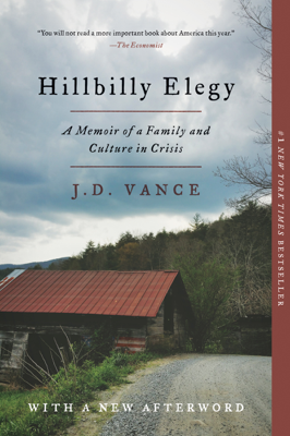 Hillbilly Elegy - J. D. Vance book