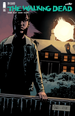 The Walking Dead #185 - Robert Kirkman, Charlie Adlard & Cliff Rathburn book