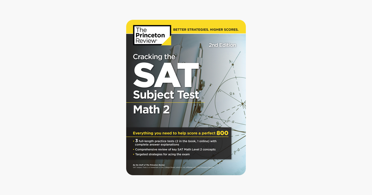 Cracking the SAT Subject Test in Math 2, 2nd Edition on Apple Books