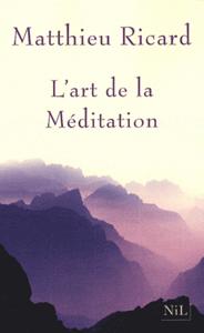 L'Art de la méditation La couverture du livre martien