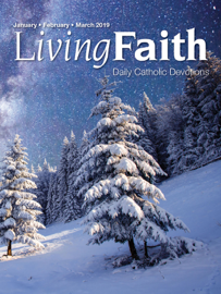 Living Faith January, February, March 2019 book