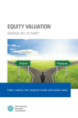 Equity Valuation: Science, Art, or Craft?
