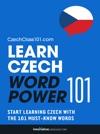 Learn Czech - Word Power 101