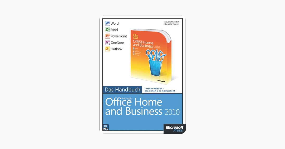 microsoft office home and business 2010 das handbuch word excel rh books apple com