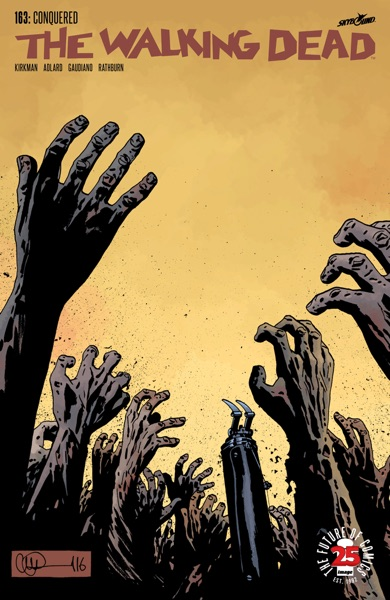 The Walking Dead #163 - Robert Kirkman, Charlie Adlard, Stefano Gaudiano & Cliff Rathburn book cover