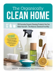 The Organically Clean Home Book Cover