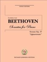 "Beethoven Piano Sonata No. 23 Op. 57 ""Appassionata"""