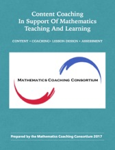 Content Coaching In Support Of Mathematics Teaching And Learning
