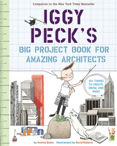 Iggy Peck's Big Project Book for Amazing Architects Book Cover