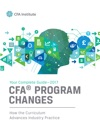 2017 Guide To CFA Program Curriculum Changes