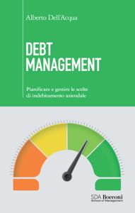 Debt management Copertina del libro
